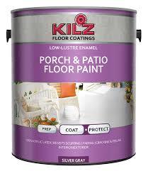 amazon com kilz interior exterior enamel porch u0026 patio latex