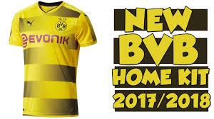 Home Kit Borussia Dortmund Home Kit 2017 2018 Puma Youtube