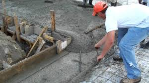 Rebar Worker Careful Rebar Placement Slab Start Youtube