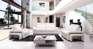 Living Room White Modern Sets Rooms Ideas Eiforces - Modern living room set