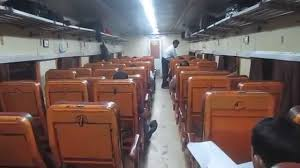 Coach Interior For Cars Ac Chair Car Cc Coach Interior Of Indian Railways Indrayani