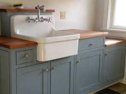 Vintage Kitchen Sinks by Furniture Home Slop Sink Standalone Vintage Porcelain With Stand