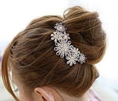 flowers for hair hair clip nykkola beautiful jewelry flowers