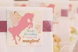 favor tags unicorn party favor tags jen t by design