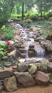 Patio Fountains Diy by Best 25 Diy Waterfall Ideas On Pinterest Diy Fountain Diy