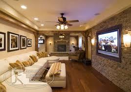 Best  Basement Tv Rooms Ideas On Pinterest Basement Living - Family room in basement