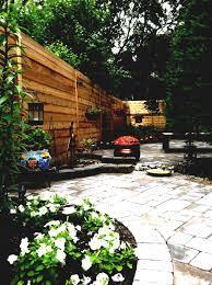 simple backyard garden small landscaped gardens adorable