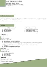 Easy Resume Templates Free Classic Resume Templates Free Elegant Executive Template