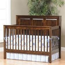 Solid Back Panel Convertible Cribs Cribs Amish Organic Nest