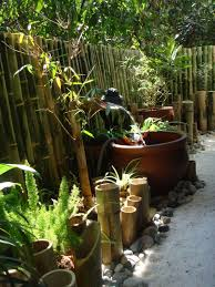 zen garden bamboo water fountain fountain design ideas