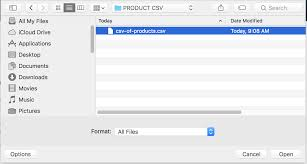 quote character in csv file how to import products into your rocketspark shop csv u2013 rocketspark