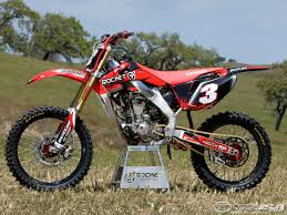 Rocket Exhaust Honda Crf250r Project Bike Photos Motorcycle Usa