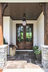Double Front Porch House Plans Best 20 Craftsman Patio Doors Ideas On Pinterest Double Sliding