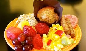 Breakfast At Comfort Suites Homewood Suites By Hilton The Waterfront Wichita Ks
