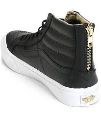 womens black leather boots sale best 25 black leather vans ideas on leather vans