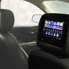 tablet headrest rear seat entertainment vizualogic