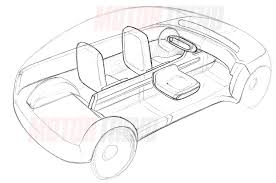 apple car interior sketch motor trend