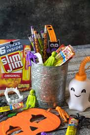 Halloween Buckets Halloween Buckets With Slim Jim Life With The Crust Cut Off