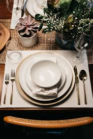 a simple pretty thanksgiving tablescape fashion jackson