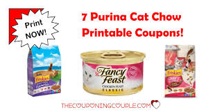 7 purina cat food printable coupons print now