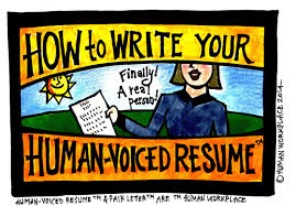 read write think resume how to write your human voiced resume