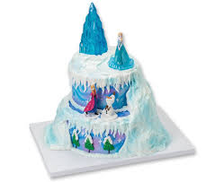 photo cake topper decopac frozen winter magic signature cake topper set