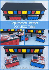 Diy Lego Table by Diy Lego Table Repurposed Dresser My Repurposed Life