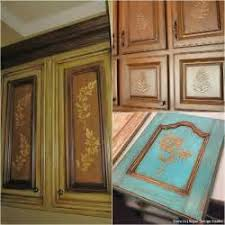 kitchen cabinet stencil ideas theedlos