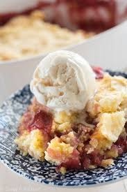 this cherry peach dump cake is the perfect easy and fast potluck