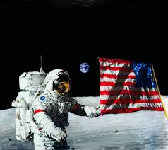 Moon Flag From Earth The Last Steps U2026on The Moon U2013 The Warbird Watcher