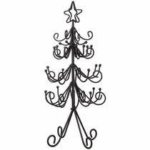 iron and tin christmas trees