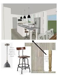 white modern and vintage kitchen design plans