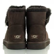 s ugg mini boots ugg brown mini bailey button s boot