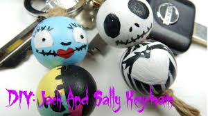 diy and sally keychains the nightmare before