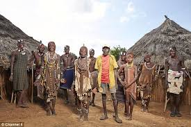 channel four turns its cameras on an tribal family for