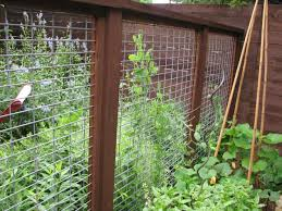 decorative woven wire fence home gardens