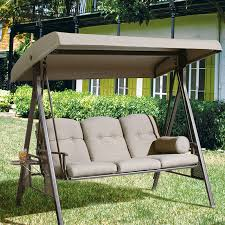 outdoor bench swing seating u2014 the homy design fun and relaxing