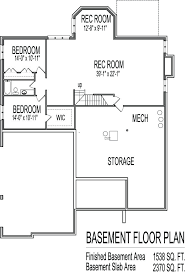 ranch home plans with basements one house plans with basement one floor plans basements