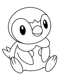 piplup coloring pages 100 images coloring page all drawing