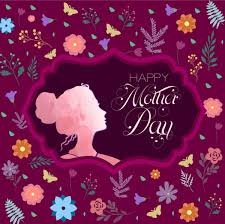 day background violet backdrop flowers butterflies