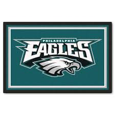 Nfl Area Rugs Fanmats Philadelphia Eagles 5 Ft X 8 Ft Area Rug 6599 The Home