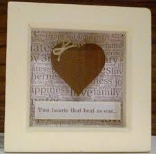 3rd wedding anniversary gift real leather heart 3rd wedding anniversary gift think