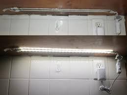 utilitech led strip light 12 ft sensational idea utilitech 196 8 in plug under cabinet led strip