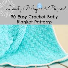 20 crochet baby blankets lovely baby and beyond blog crochet