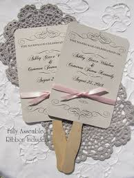 personalized fans for weddings wedding fans wedding fans personalized fans assembled