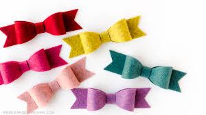 ribbon and bows medium felt bow tutorial ribbon and bows oh my