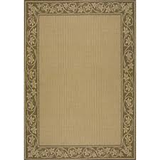 All Weather Outdoor Rugs All Weather Border Outdoor Rug 8 X 11 Sam S Club