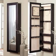 standing mirror jewelry cabinet standing mirror jewelry armoire ngww me