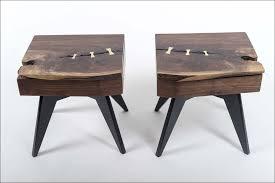 bedroom black wood nightstand acrylic nightstand iron nightstand