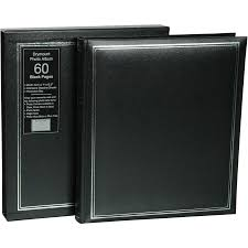 black page photo album imagine drymount 60 page photo album black big w